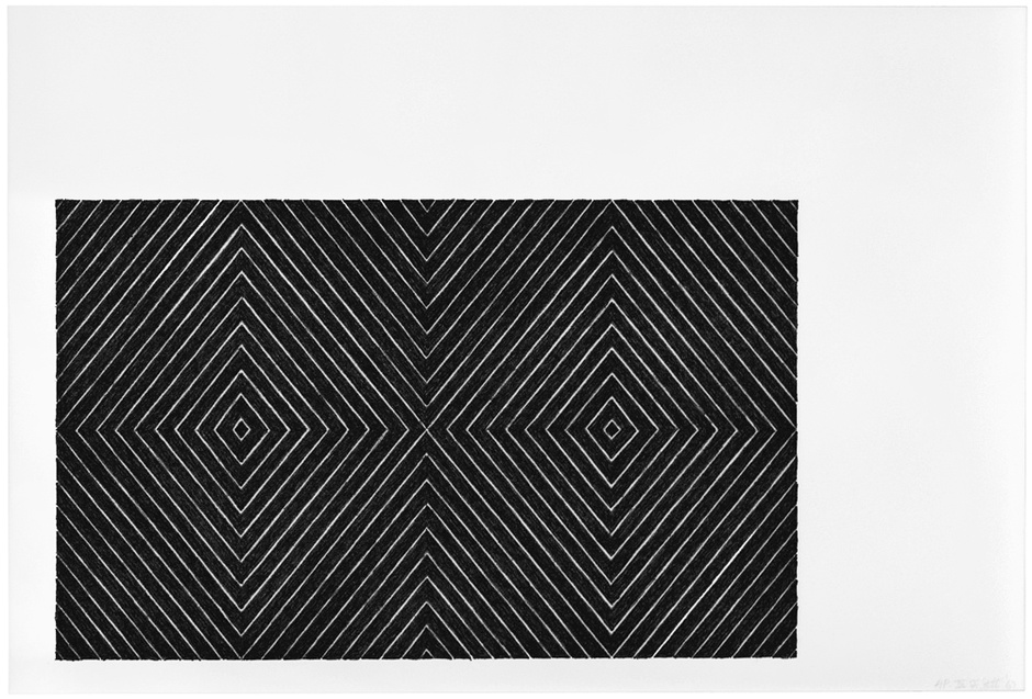 Frank Stella,  Delphine and Hippolyte , 1967