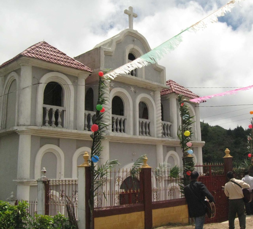 The parish in Aguacate