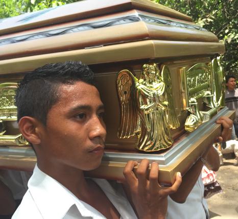 Fr. Antonio's funeral procession