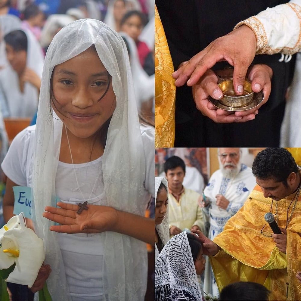 Last year many people were chrismated in #Guatemala. Praying for more growth for the #Orthodox Church in 2016!