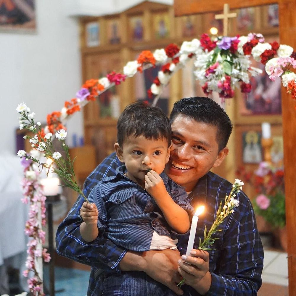 Holy Saturday in Aguacate, Guatemala. Pascha is almost here! #holyweek #orthopost