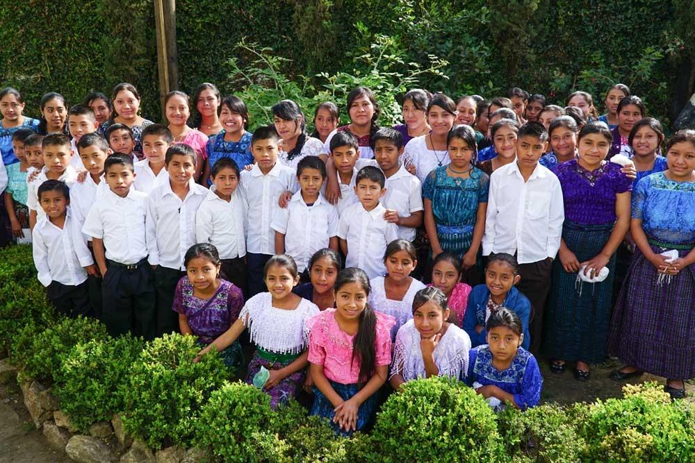 The choir in Aguacate, Guatemala /// El Coro en Aguacate, Guatemala