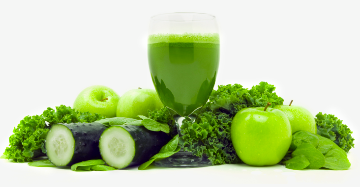 Alkaline, cleansing veggies for fresh juicing or smoothies!
