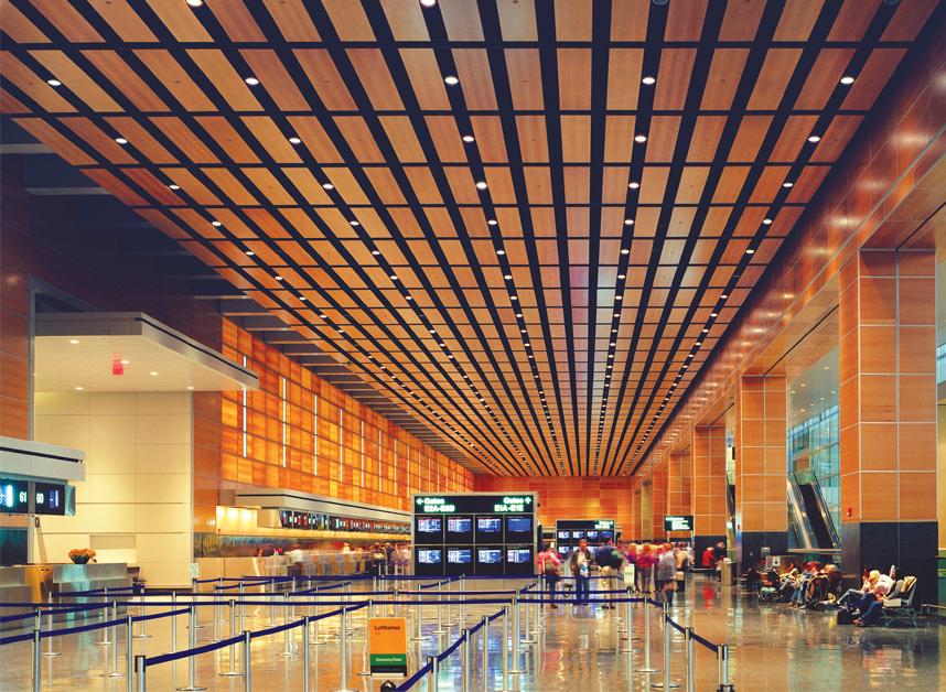 LOGAN INTERNATIONAL AIRPORT TERMINAL E Skidmore, Owings & Merrill - Architect of Record