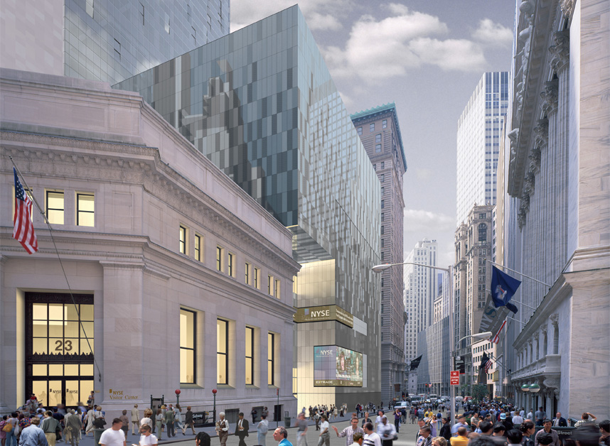 NEW YORK STOCK EXCHANGE HEADQUARTERS Skidmore, Owings & Merrill - Architect of Record
