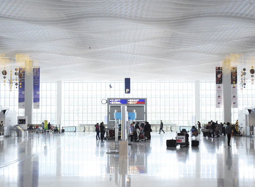 HONG KONG INTERNATIONAL AIRPORT TERMINAL 2 Skidmore, Owings & Merrill - Architect of Record