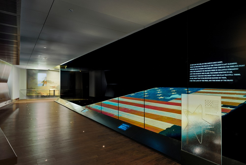 Flag Chamber interior