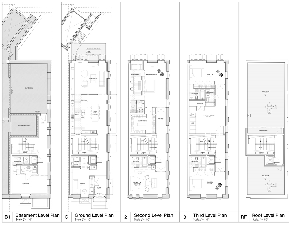 Floor Plans: Image credit: RAFT Architects