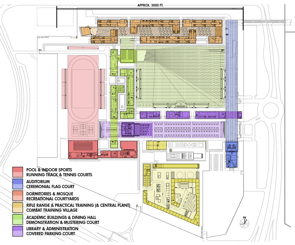 Site Plan - image credit: © SOM