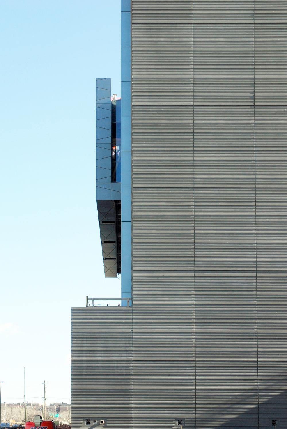 Precast concrete detail - Recruit Academic Building - 2015