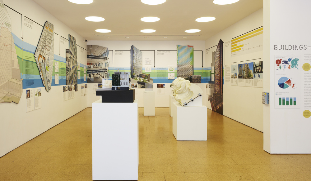 Photograph of exhibition - Image credit: Center for Architecture