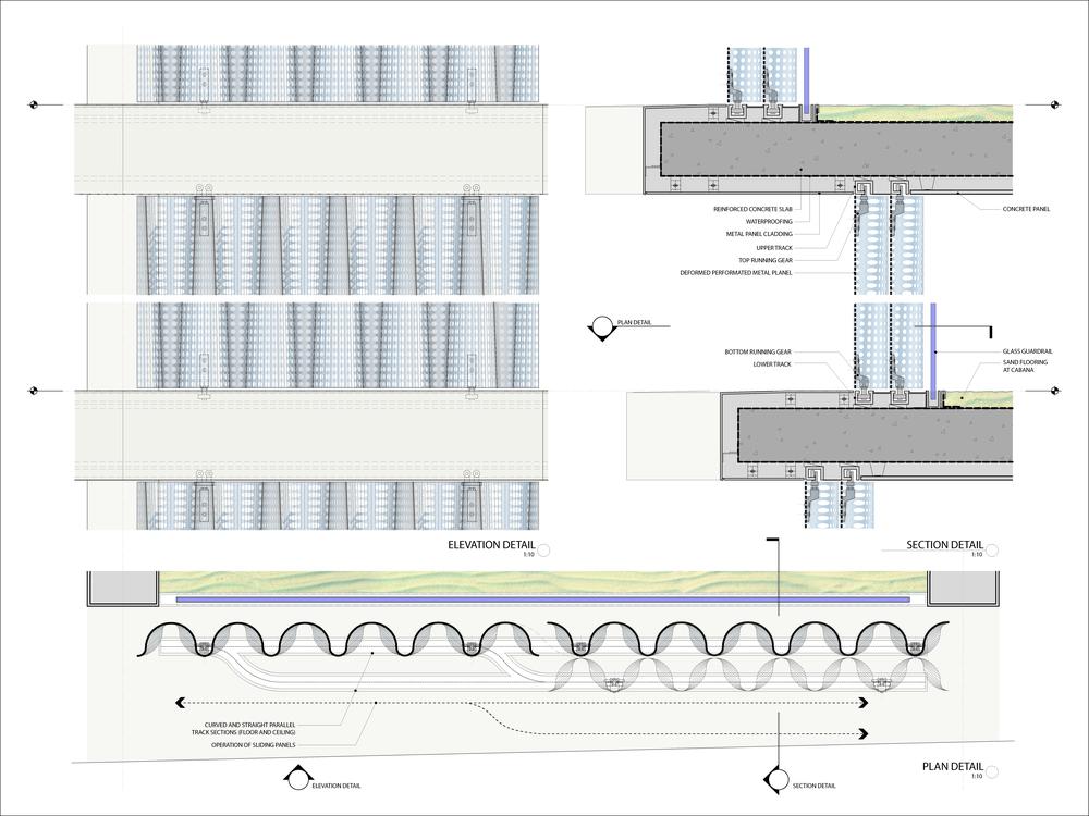Building facade details
