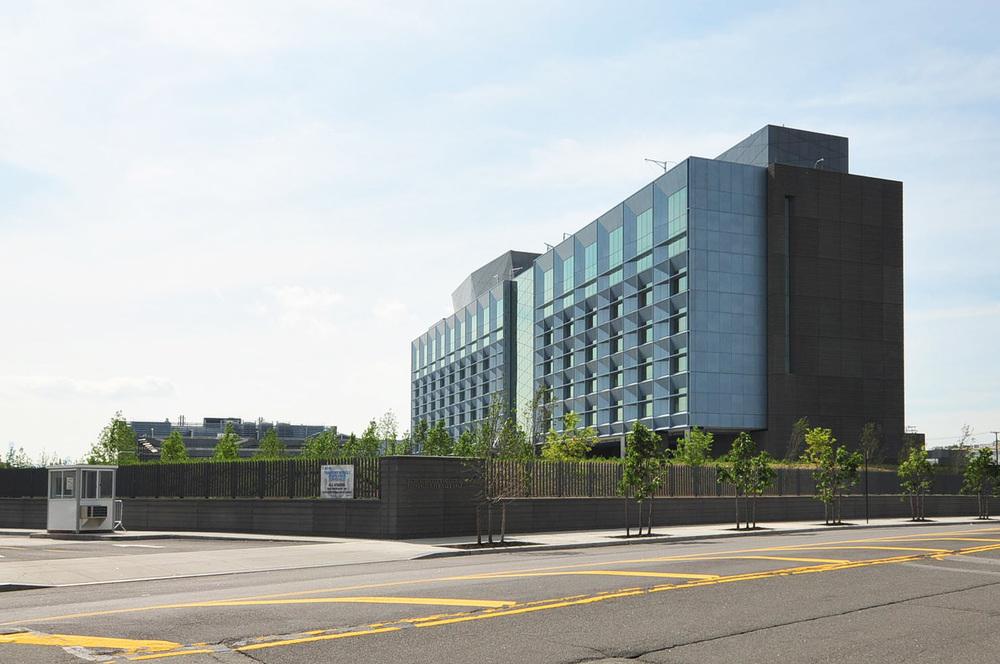 SouthEast corner of Recruit Academic Building - 2015
