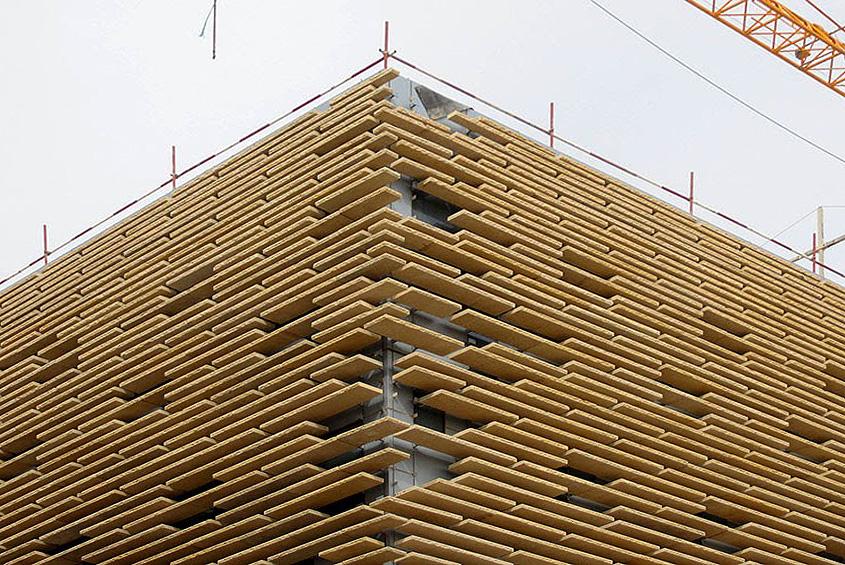 Construction progress, 2015