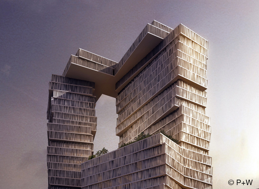 RITZ-CARLTON HOTEL AND RESIDENCES BEIRUT Perkins+Will - Architect of Record