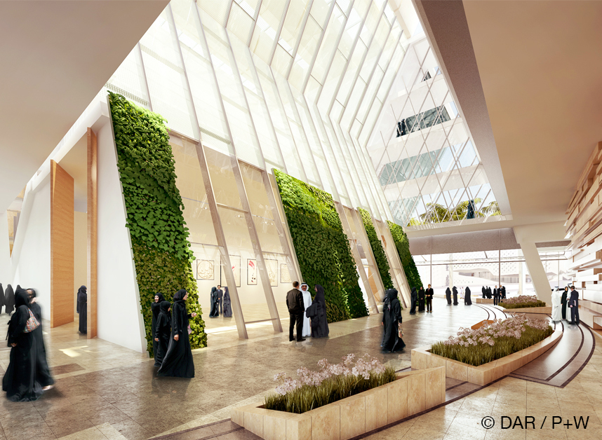 KUWAIT UNIVERSITY COLLEGE OF ARTS Dar al Handasah / Perkins+Will - Architect of Record