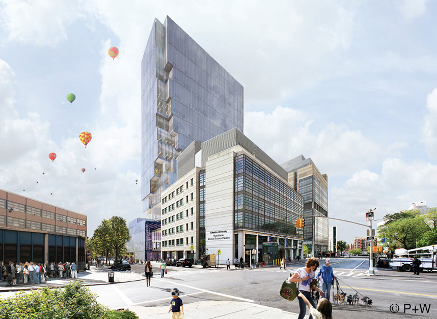 COLUMBIA UNIVERSITY SCHOOL OF NURSING Perkins+Will - Architect of Record