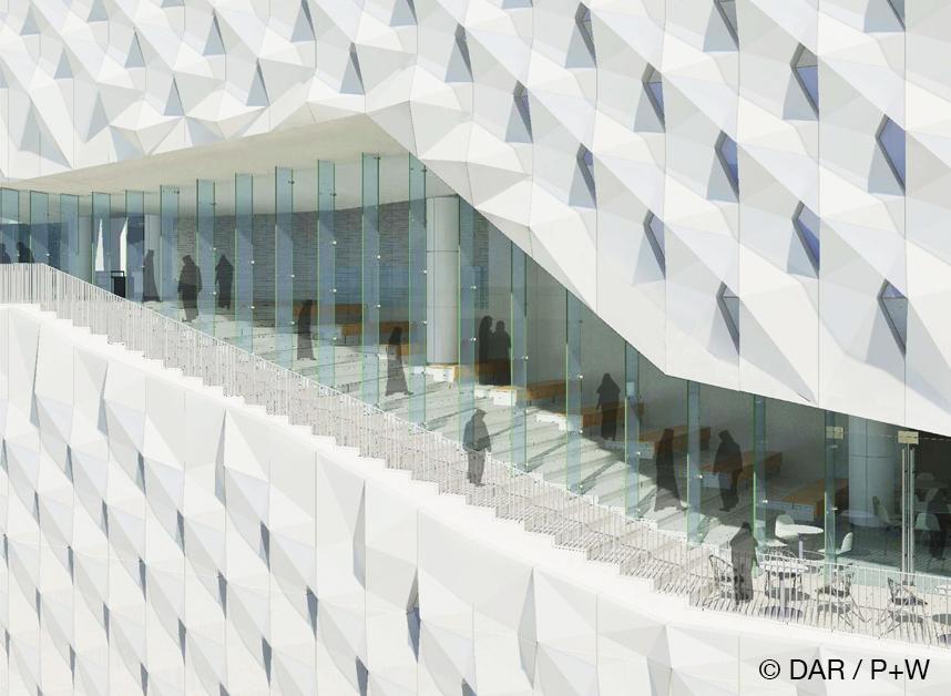 KUWAIT UNIVERSITY COLLEGE OF EDUCATION Dar al Handasah / Perkins+Will - Architect of Record