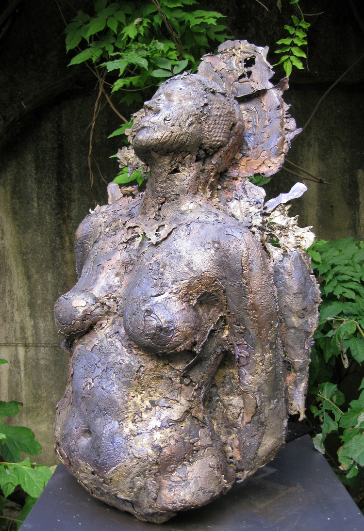 Magda I, 2008   Bronze, 37 x 22 x 11 inches, Private collection