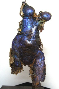 Dimetre, 1999, Bronze, 26 x 18 x 8 inches.