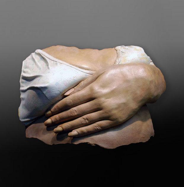 Hand on Bra, 1976