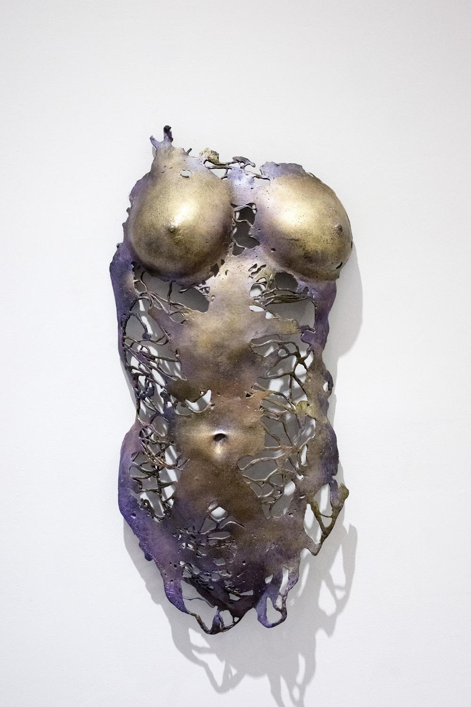 Caroline's Corset, Bronze.