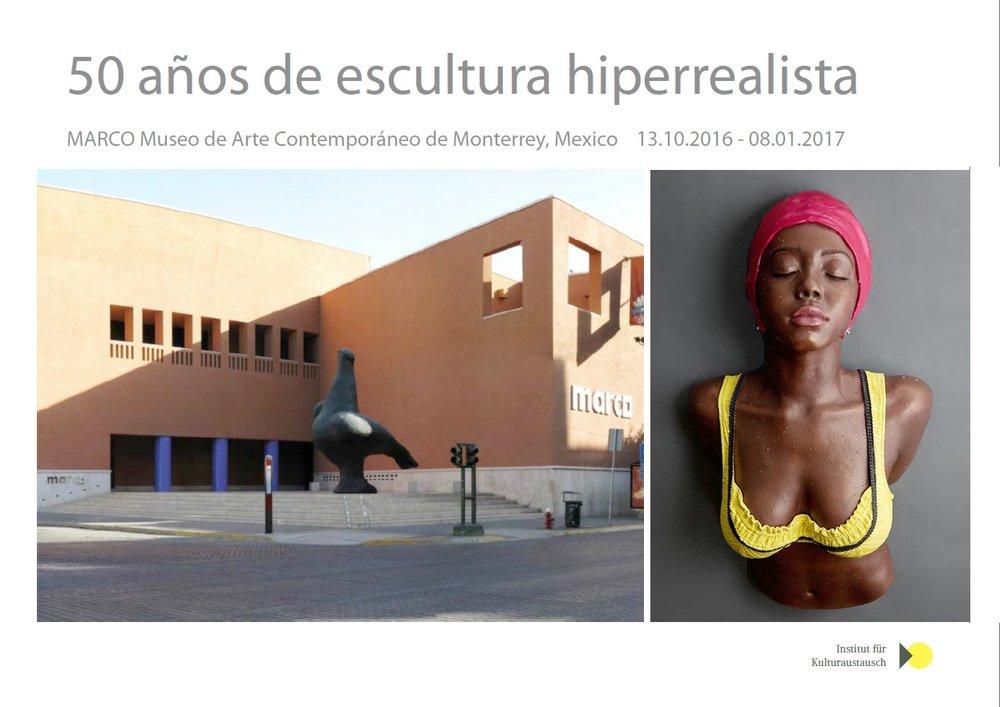 50 Años de Escultura Hiperrealista, MARCO Museo, A Group Exhibition of Hyperrealistic Sculpture