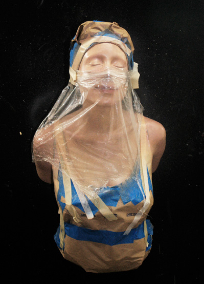 """Hear MY Voice"", Resin & Mixed Media, by Carole Feuerman"