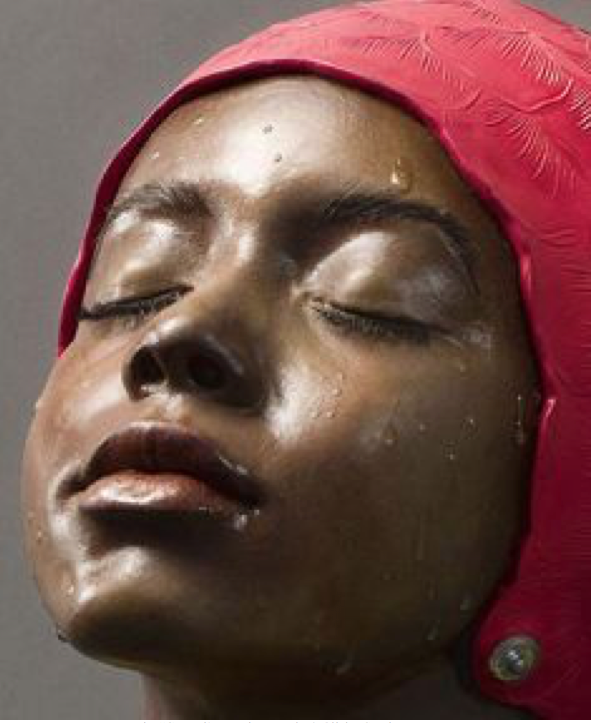 "The ""General's Daughter, Resin & Oil, by Carole Feuerman"