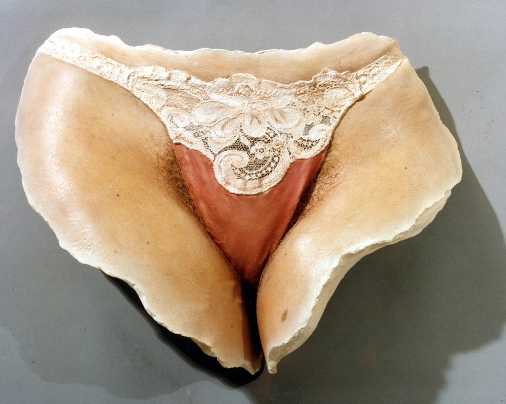 Lace Panties  , Patinated Resin, Life-Size, 2011