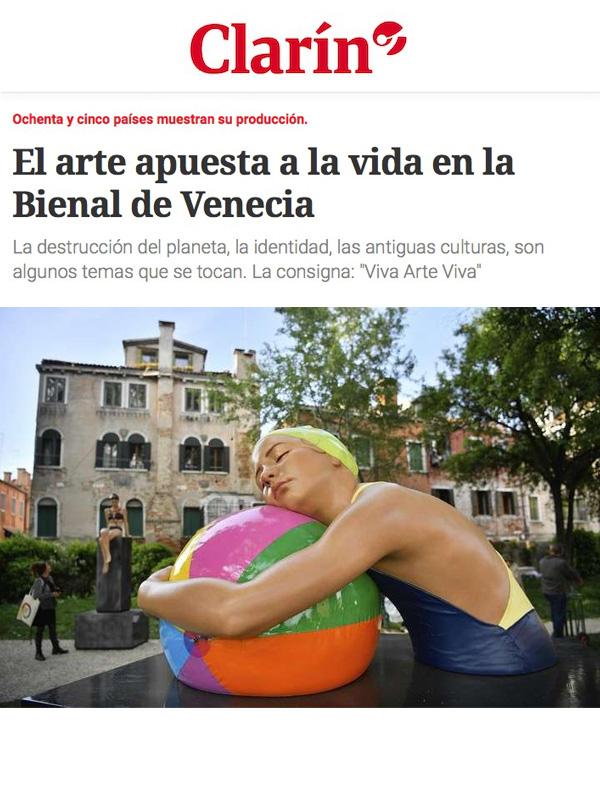 El arte apuesta a la vida en la Bienal de Venecia