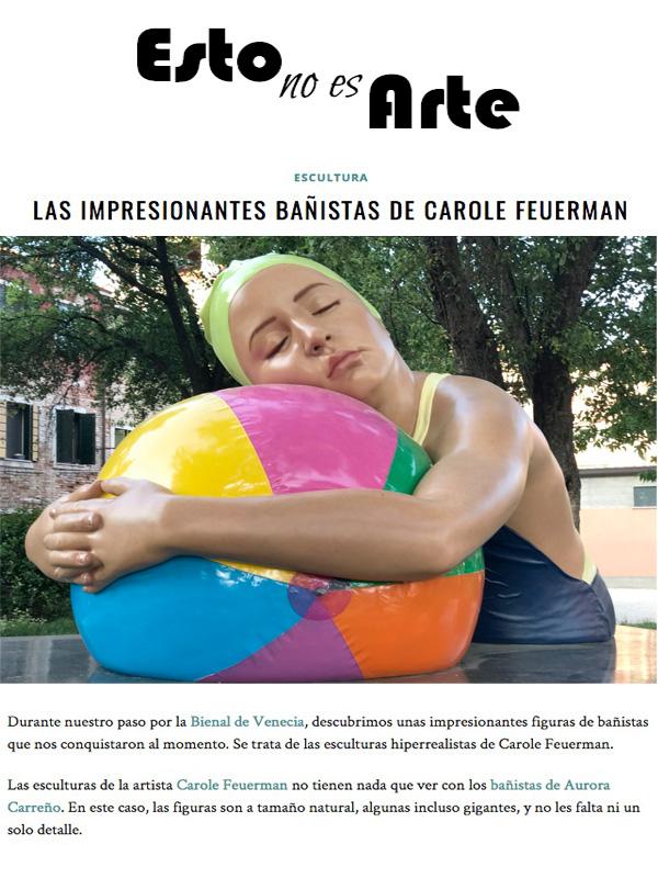 Las Impresionantes Bañistas de Carole Feuerman