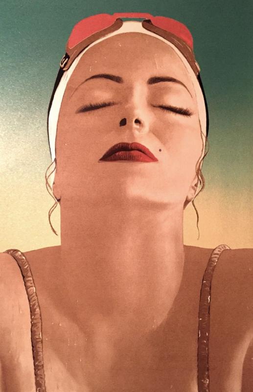 Catalina, 2016, Silkscreen, 19 x 25 inches