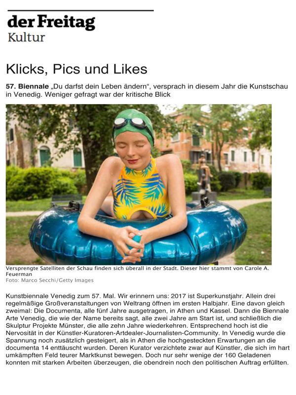 Kicks, Pics and Likes
