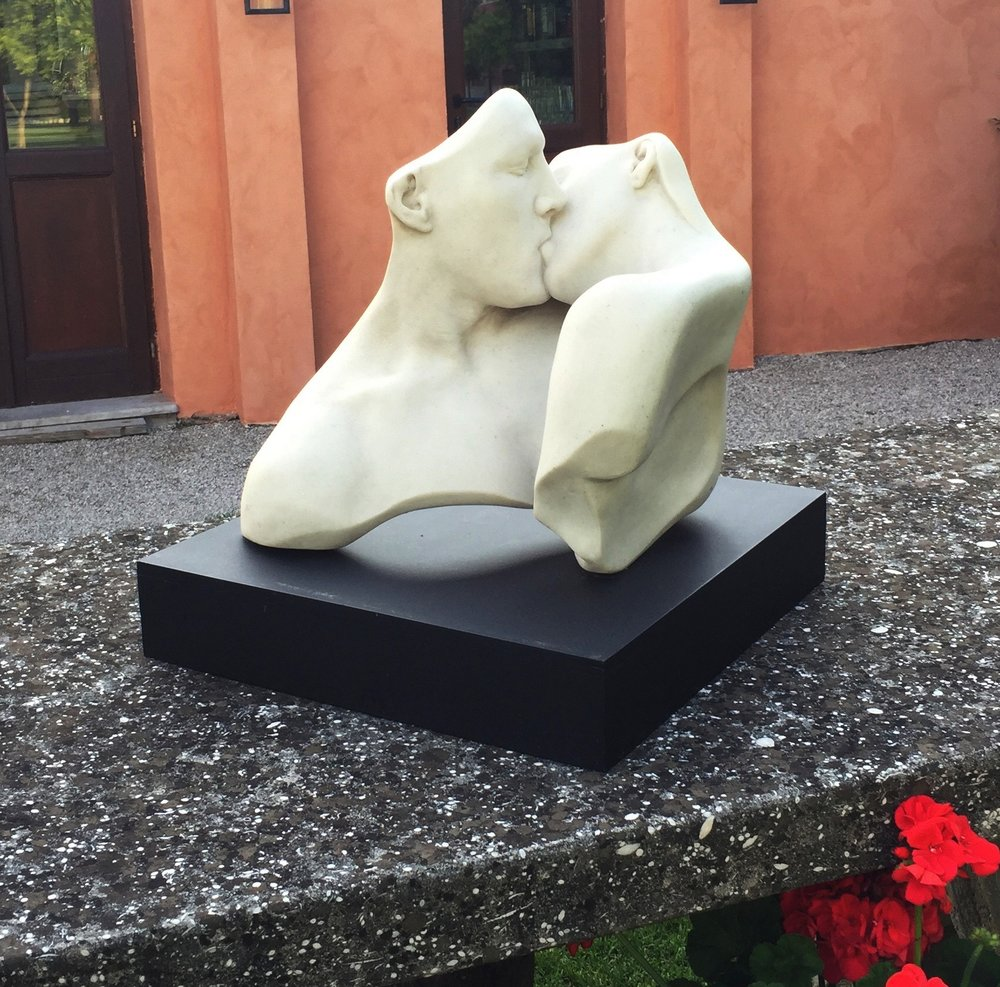 The Lovers, Marble, 17L x 16W x 15H (inches)