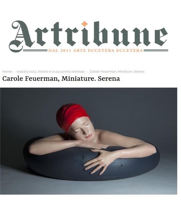 Carole Feuerman, Miniature Serena