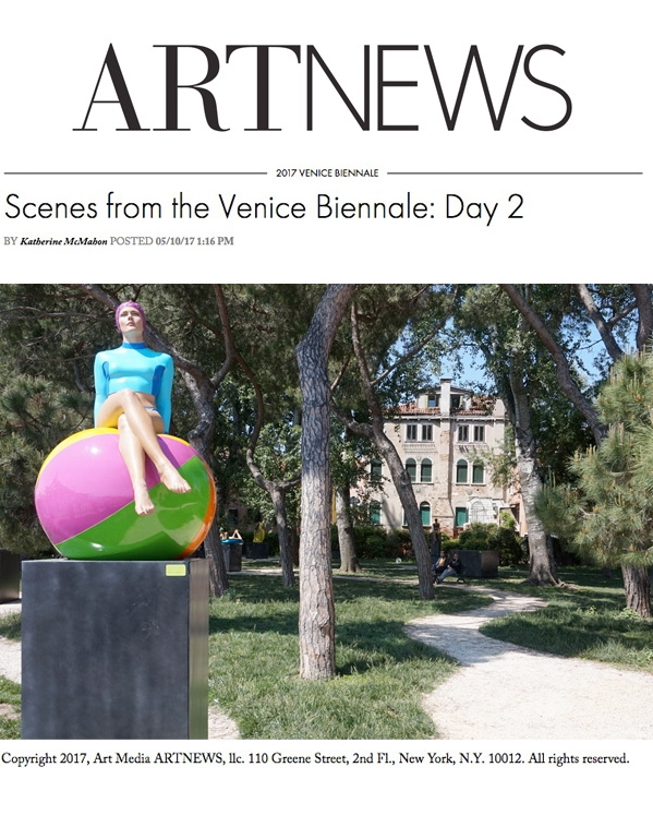 Scenes from the Venice Biennale: Day 2