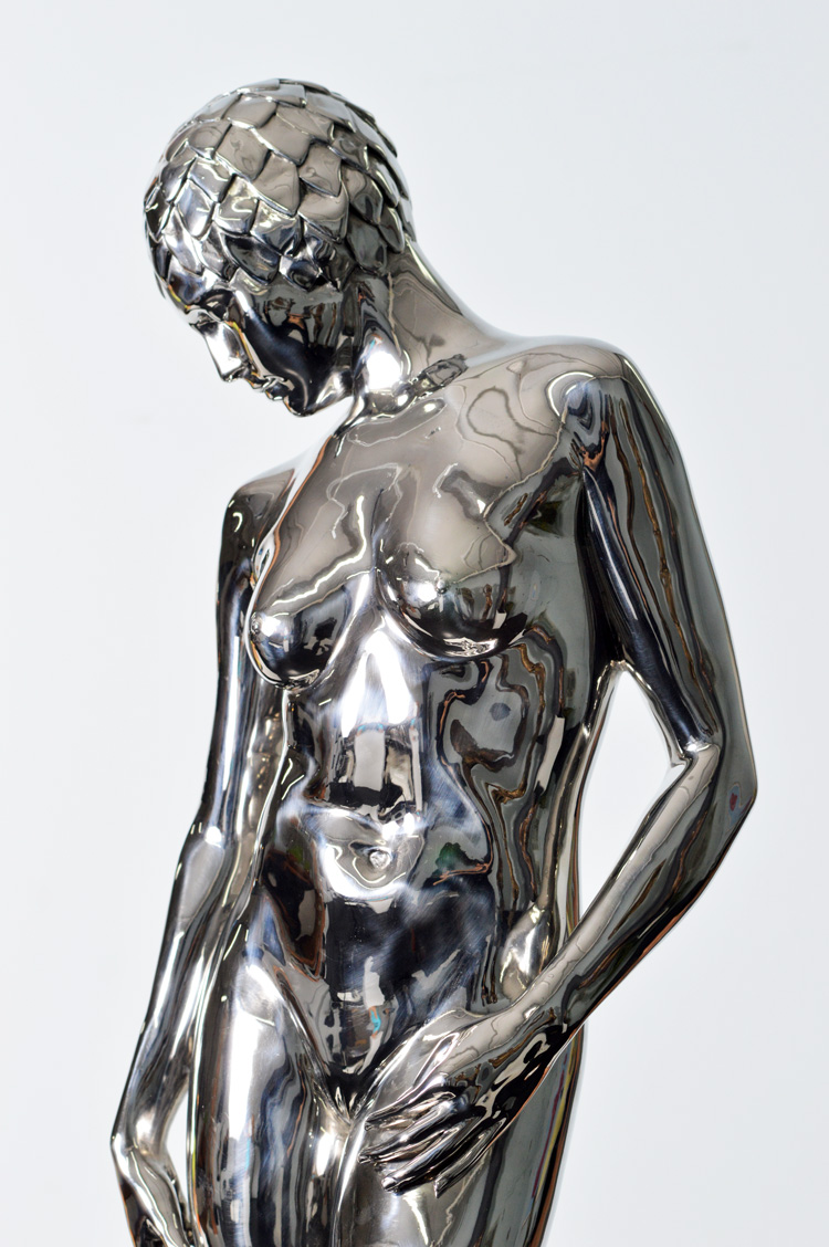 Tree, 2015, Stainless-Steel, 43 x 12 x 9 inches