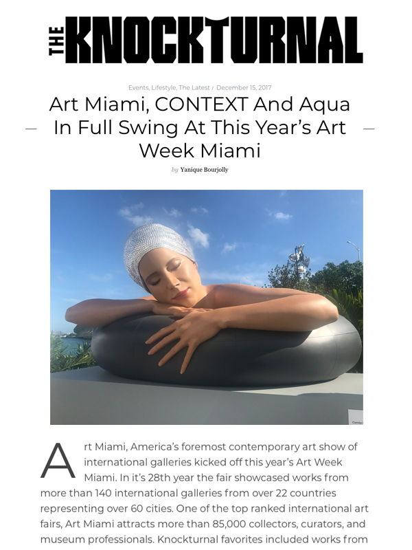 Art Miami, CONTEXT And Aqua In Full Swing At This Year's Art Week Miami