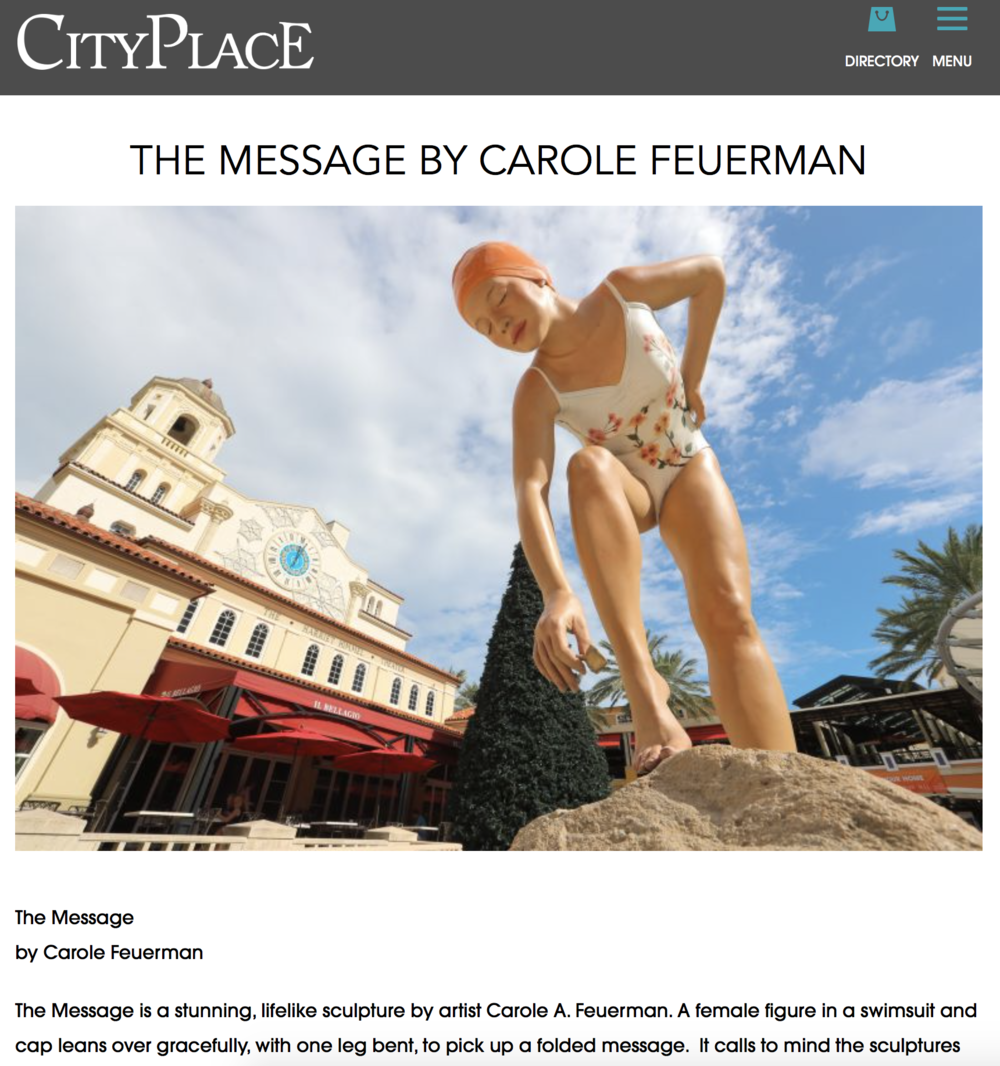The Message By Carole Feuerman