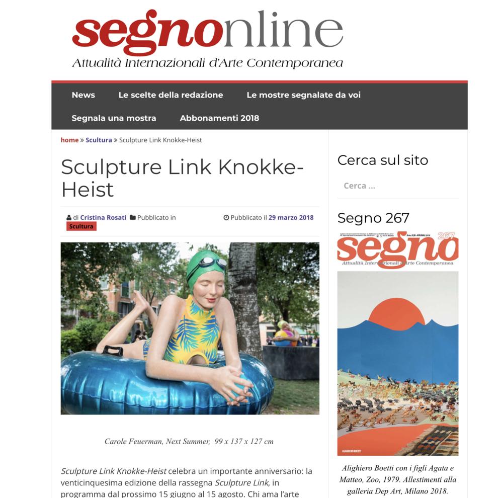 Sculpture Link Knokke-Heist