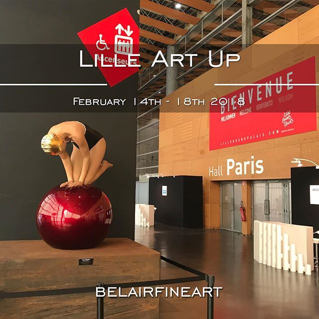 ART UP!2018 LILLE ART FAIR - Presented by Bel-Air Fine Art, Lille, FRFebruary 14th - 18th, 2018
