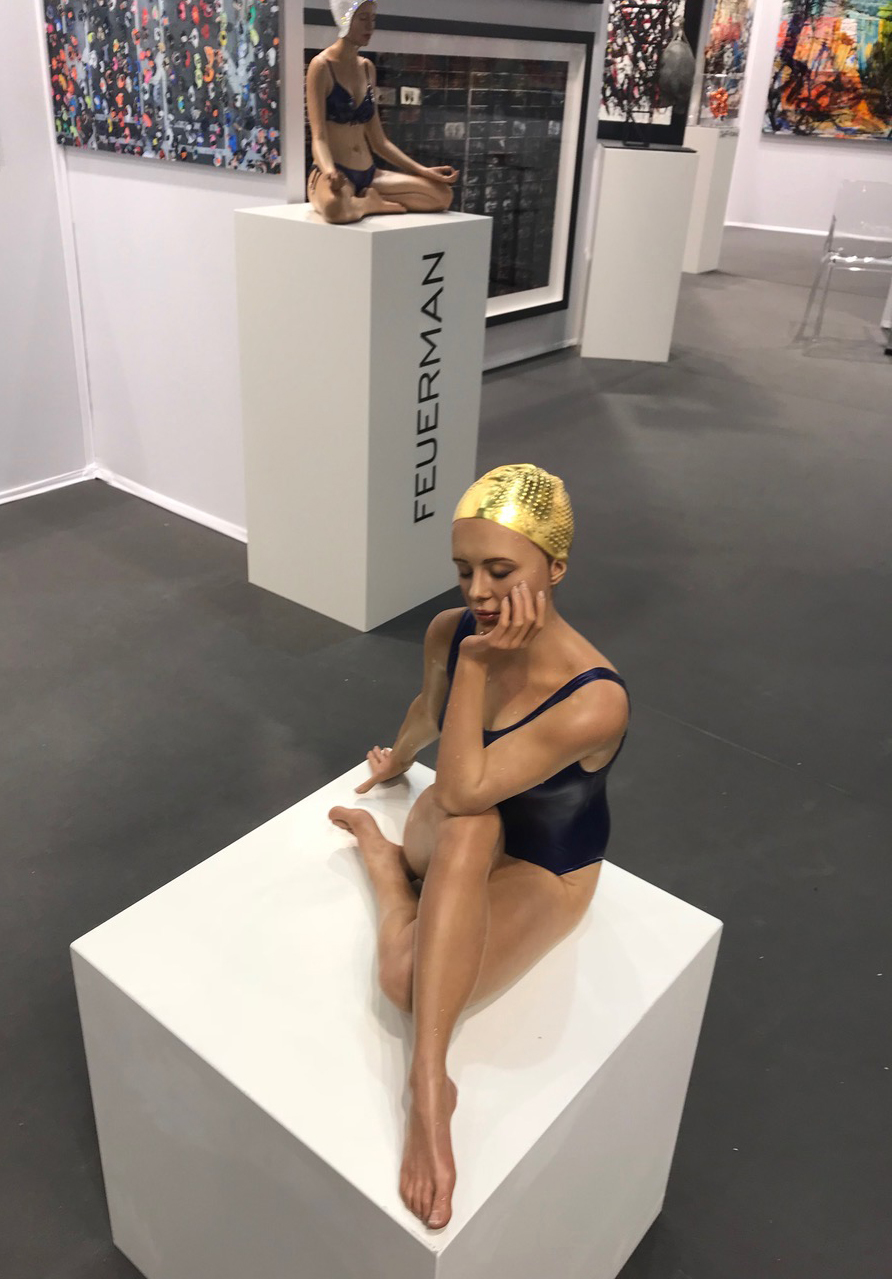 Contemplation, 2018, 33 x 32 x36