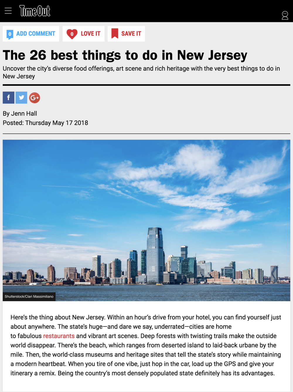 The 26 best things to do in New Jersey