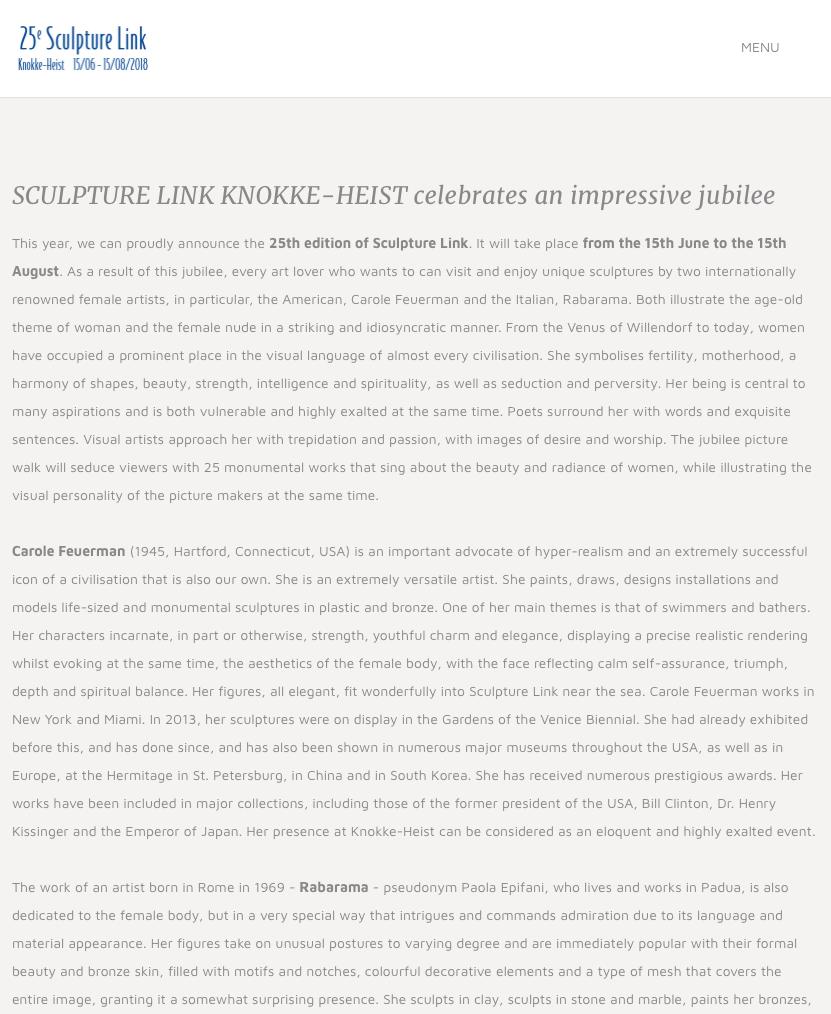 Sculpture Link Knokke-Heist Celebrates an Impressive Jubilee
