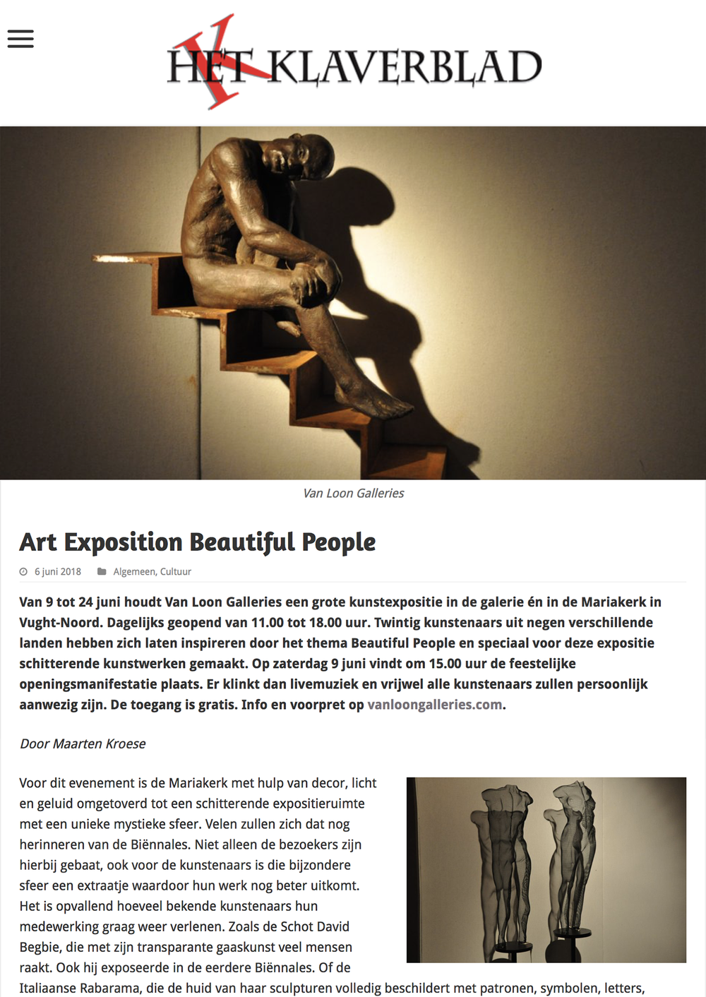 Art Exposition Beautiful People