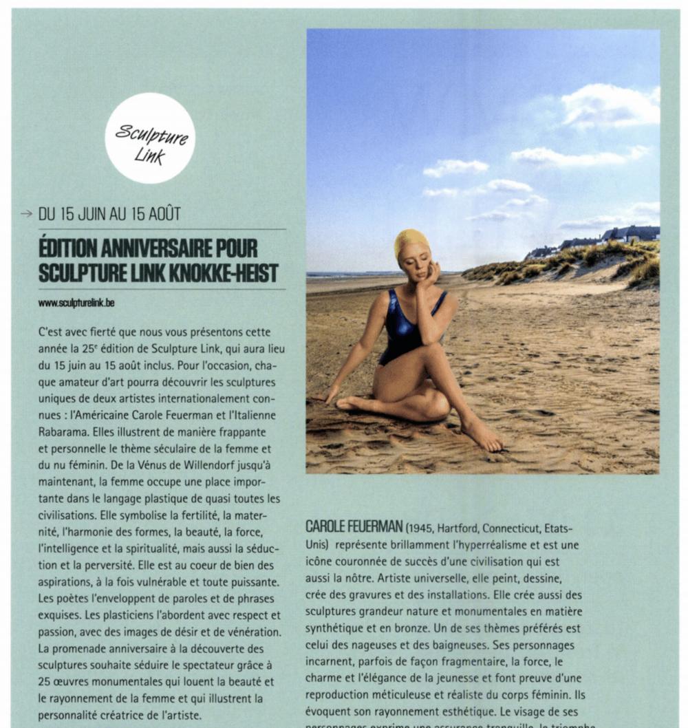 Edition Anniversaire Pour Sculpture Link Knokke-Heist