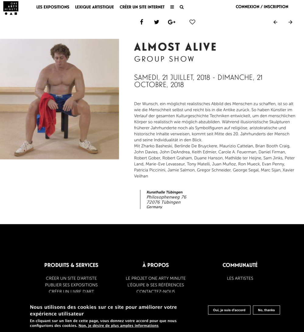Almost Alive Group Show
