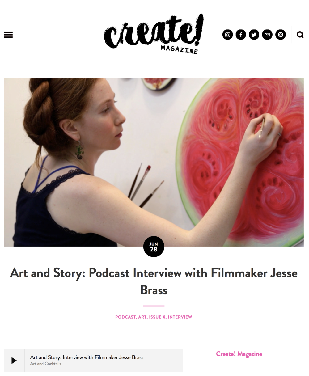 Art and Story: Podcast Interview with Filmmaker Jesse Brass
