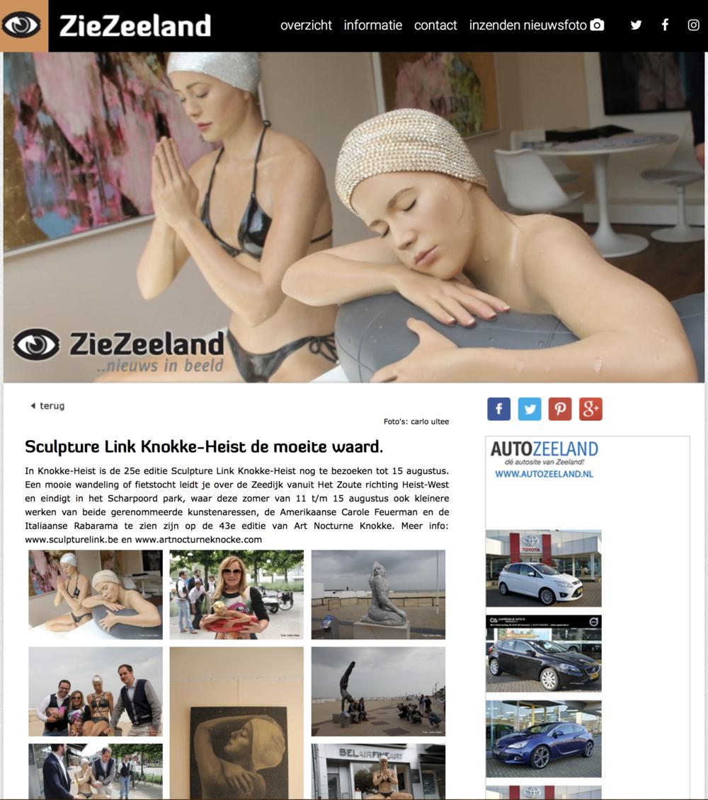 Sculpture Link Knokke-Heist de moeite waard.